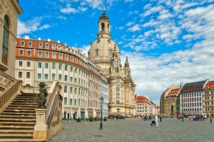 Der historische Stadtrundgang durch Elbflorenz, incl. Zwinger & Besichtigung der Frauenkirche - Kind 0 - 12 Jahre