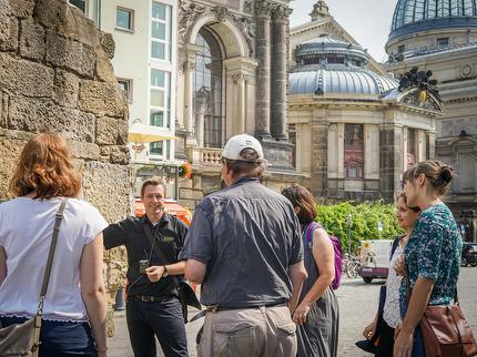 Faszination Dresden - Der besondere Stadtrundgang inkl. Secco - Dresden-Card-Inhaber