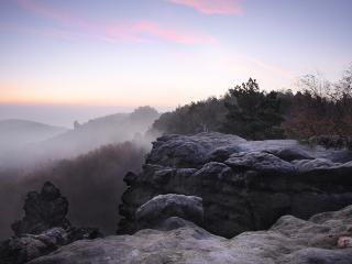 Sonnenaufgang in Gohrisch