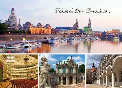 Alte und neue Glanzlichter Dresdens Baustein 1: Altstadtführung mit Innenbesichtigung der Frauenkirche