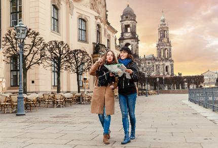 Auftakt - Stadtführung Dresden: Besonders kurz(1h)weilig mit viel Wissenswertem für Ihren Besuch