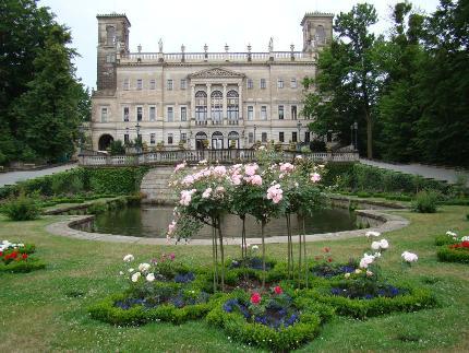 igeltour: Durch die Parks der Loschwitzer Elbschlösser: Teil 1 - Schloss Albrechtsberg