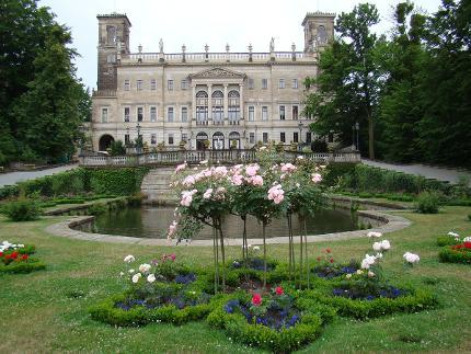 Durch die Parks der Loschwitzer Elbschlösser: Teil 1 - Schloss Albrechtsberg - handicapped