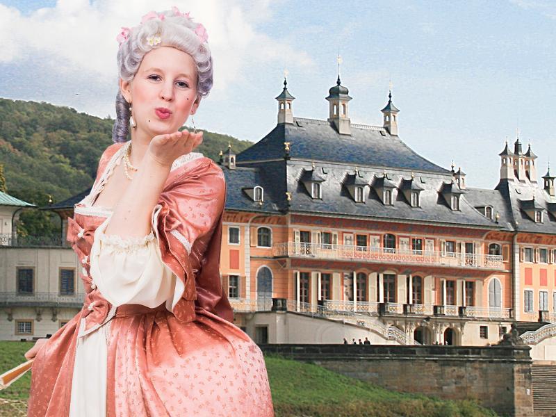 Schloss Pillnitz / Urheber: Sylvio Dietrich / Rechteinhaber: © Barokkokko - Die Erlebnisagentur