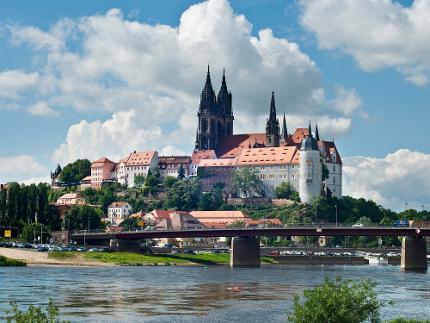 Weinzeit entlang der Elbe