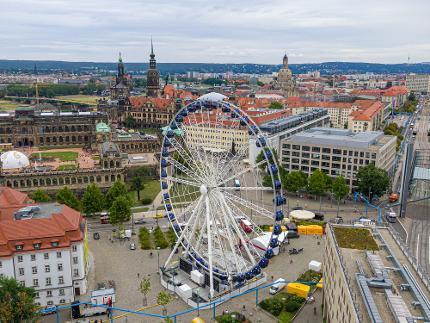 """Riesenrad """"Wheel of Vision"""" - Körpergröße bis 140 cm"""