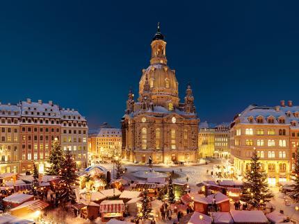 Festliche Dämmerung - Abendliche Rundfahrt und Orgelzauber im Dresdner Advent