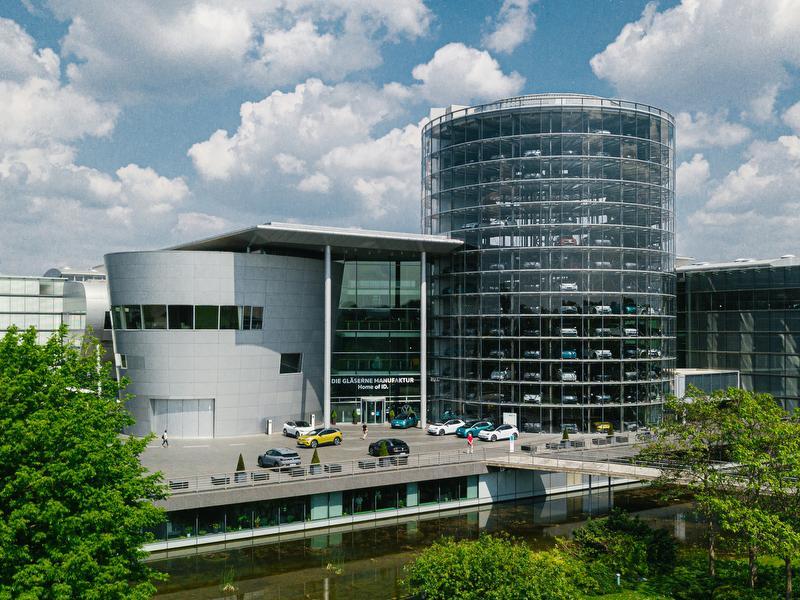 Die Gläserne Manufaktur / Urheber: Volkswagen Group Services GmbH / Rechteinhaber: © Volkswagen Group Services GmbH