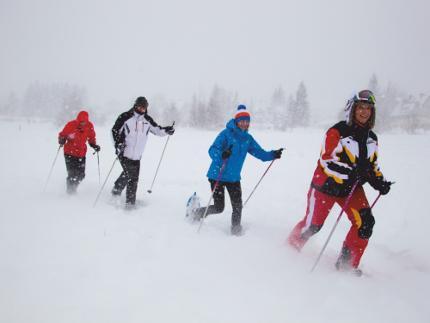 Yeti Schneeschuhtour