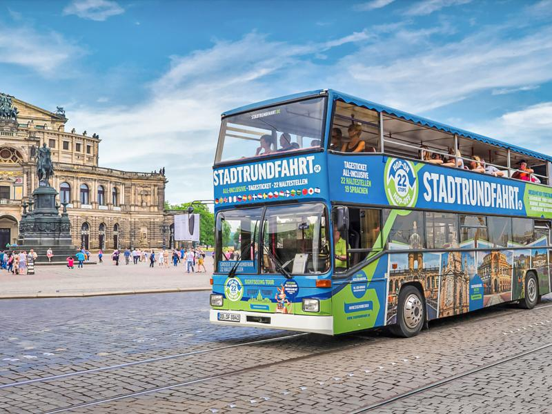 Große Stadtrundfahrt / Urheber: Stadtrundfahrt Dresden GmbH / Rechteinhaber: © Stadtrundfahrt Dresden GmbH