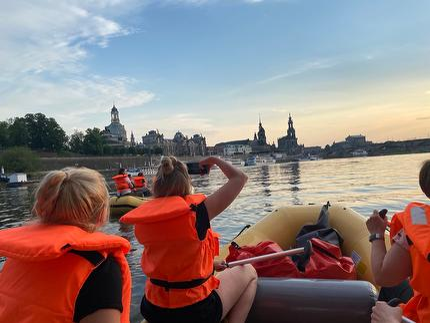 Altstadt-Tour mit dem Schlauchboot
