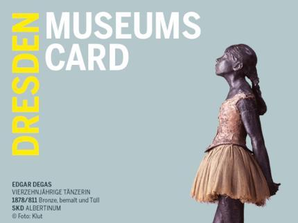 Dresden Museums Card (Zwinger) - Einzelticket für 2 Tage - Freikarte Kind 0-16 Jahre