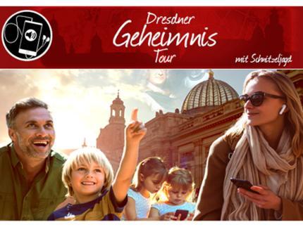 Geheimnis-Tour -  Dresden spielerisch entdecken! - Gruppenticket