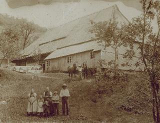 Der Scheuerhalterhof im Jahre 1912