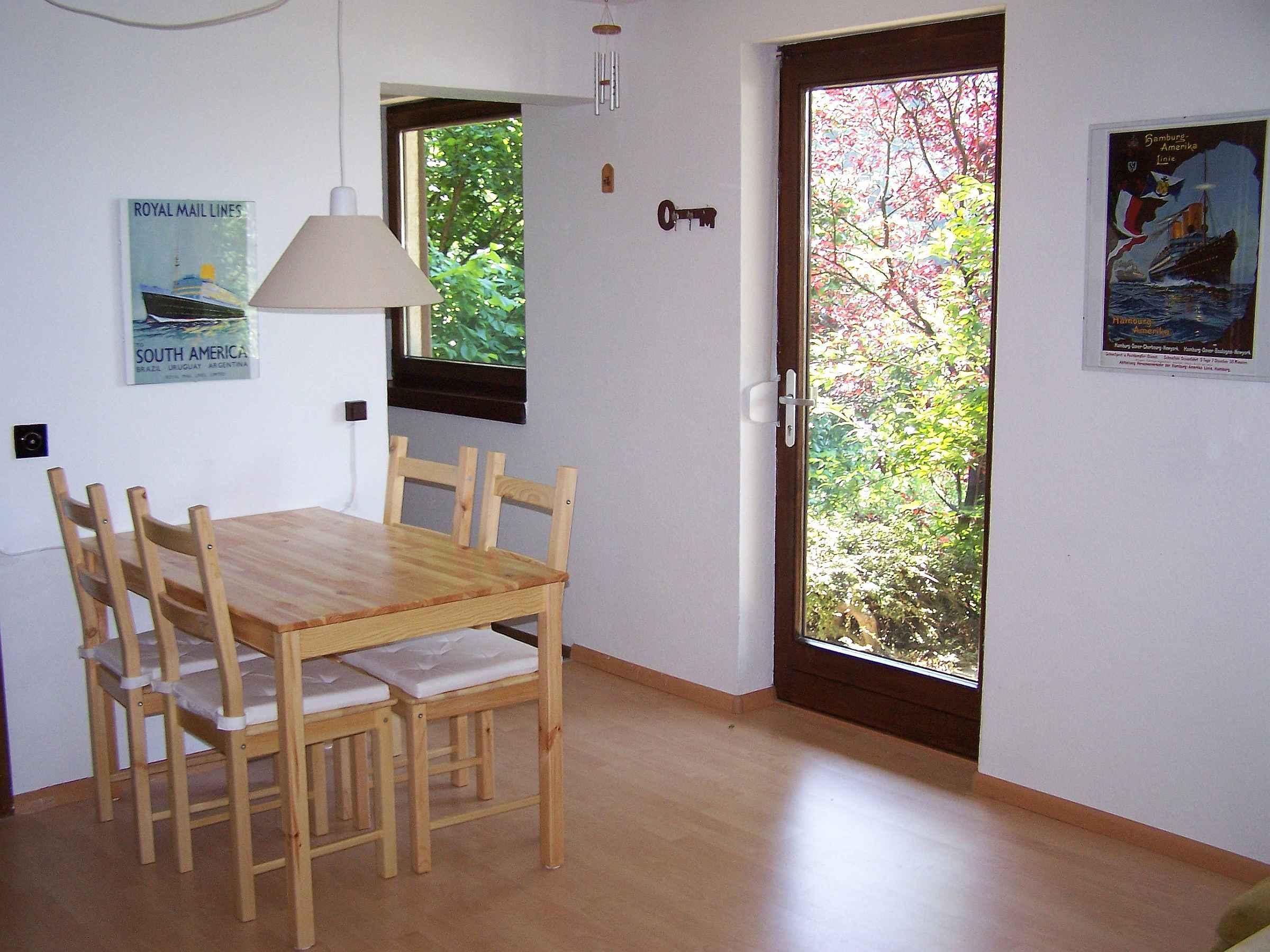 Holiday apartment Unterschütz, (Ettenheim). Nichtraucher-26qm, 1 Wohn-Schlafraum, max. 3 Personen (605197), Ettenheim, Upper Rhine-Rhine Valley, Baden-Württemberg, Germany, picture 9