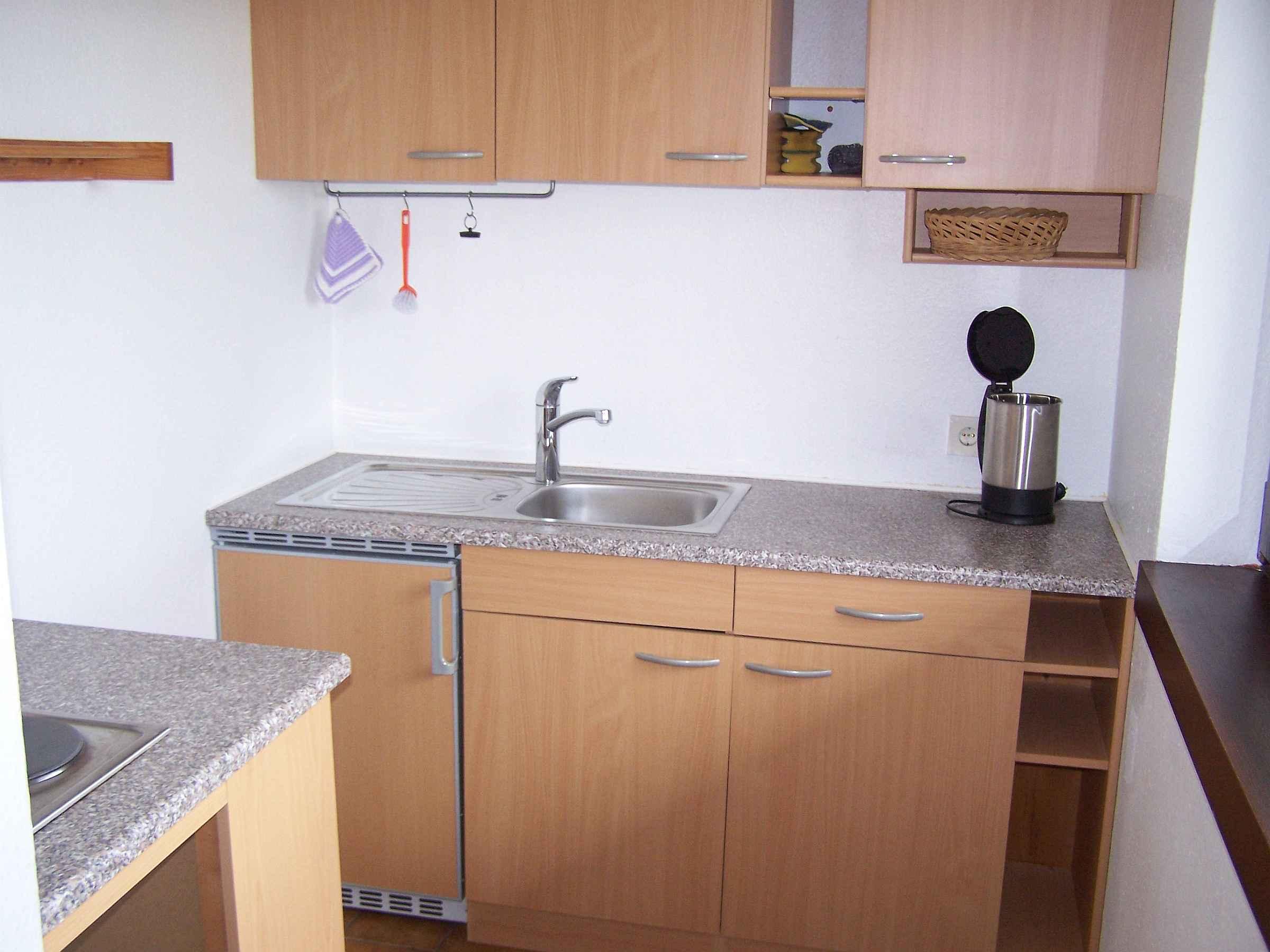 Holiday apartment Unterschütz, (Ettenheim). Nichtraucher-26qm, 1 Wohn-Schlafraum, max. 3 Personen (605197), Ettenheim, Upper Rhine-Rhine Valley, Baden-Württemberg, Germany, picture 11