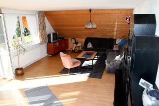 Wohnbereich mit Balkon