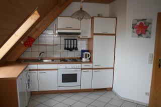 Küche Wohnung Talblick