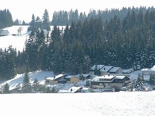 Blick auf das Gästehaus Himmelswiese