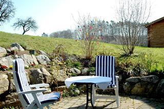 2 Zi. Wohng. mit eigener Sonnenterrasse und Liegewiese