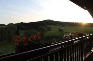 Balkon Ferienwohnung A