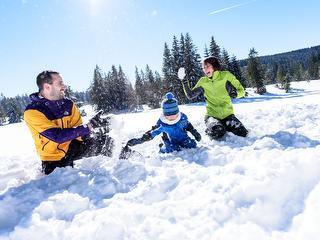 Im Winter ein Spaß für die ganze Familie