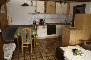 Wohnbereich mit Küche Sonnenstrahl