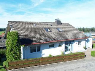 Sicht auf das Haus