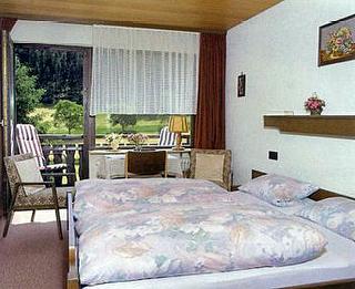 Doppelzimmer mit Dusche/WC und Balkon