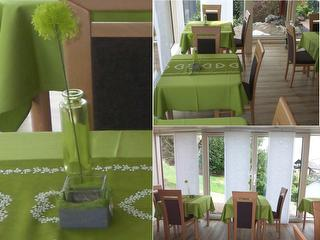 Unser Panoramafrühstücksraum