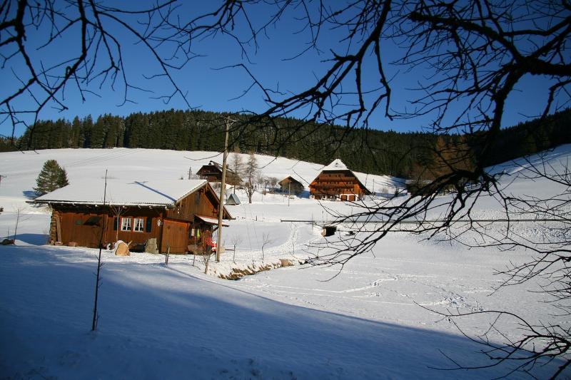 Der Balzenhof im Winter