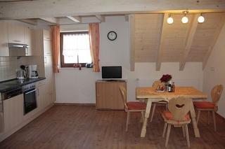 Küche mit Essbereich/ Wohnung Bergidylle