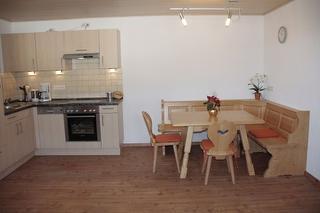 Küche und Essbereich/Wohnung Sonnenblick