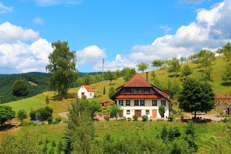 Ferienhaus Hubhof, (Oberharmersbach). Ferienwohnun