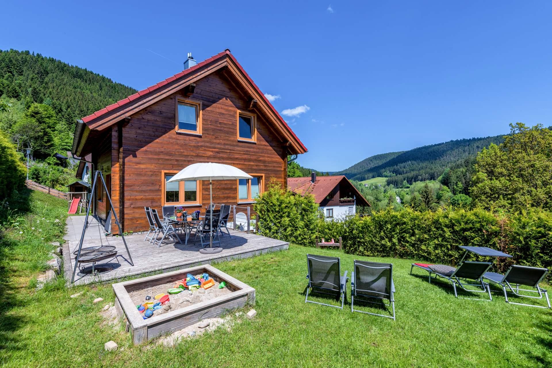 Schwarzwald-Ferienhaus Fronwald, (Alpirsbach). Fer