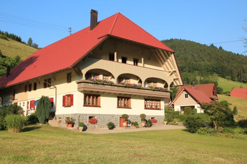 Oberwöhrlehof, (Wolfach). Doppelzimmer mit Du