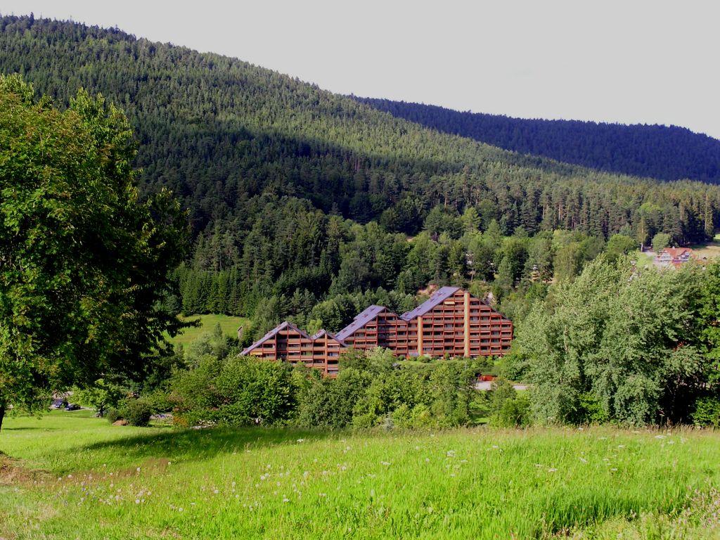 Ferienhaus Haus Schwarzwaldgrund, (Baiersbronn). Fewo Typ 2a, 1 Schlafraum, 1 Wohn-Schlafraum, max. 2 (662521), Baiersbronn, Schwarzwald, Baden-Württemberg, Deutschland, Bild 1