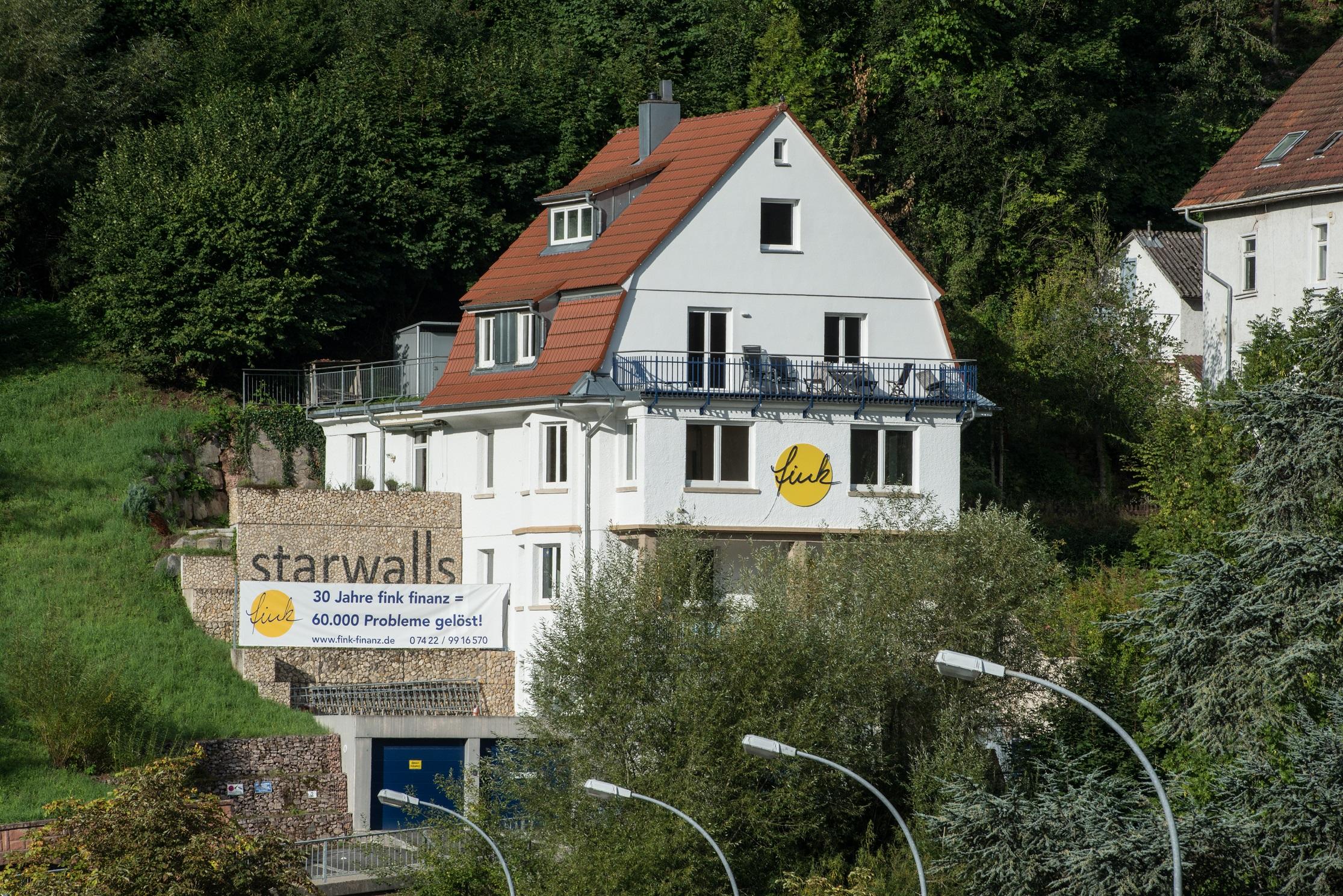 Villa Fink, (Schramberg). Villa Fink Obergeschoss Ferienhaus in Deutschland