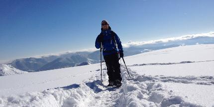 Schneeschuhwanderung: Halbtagestour am Belchen