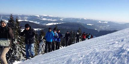 Schneeschuhwanderung: Leichte Panoramatour am Belchen