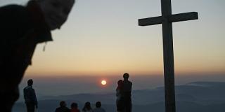 Sonnenaufgang auf dem Belchen / Urheber: Original Landreisen AG / Rechteinhaber: © Original Landreisen AG