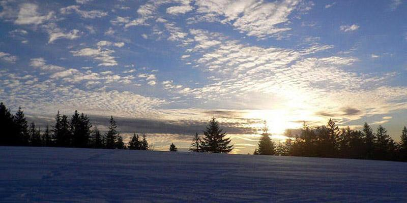 Schneeschuhwanderung: Panoramatour auf Breitnaus Höhen