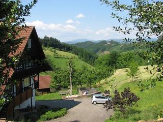 Blick auf die Schwarzwaldhochstraße