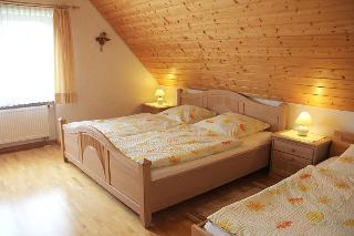 3 Bett Schlafzimmer Ferienwohnung Sternschnuppe Müllerbauernhof