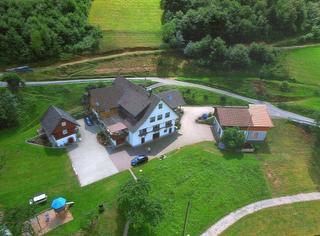 Luftaufnahme Anwesen Kaltenbronn