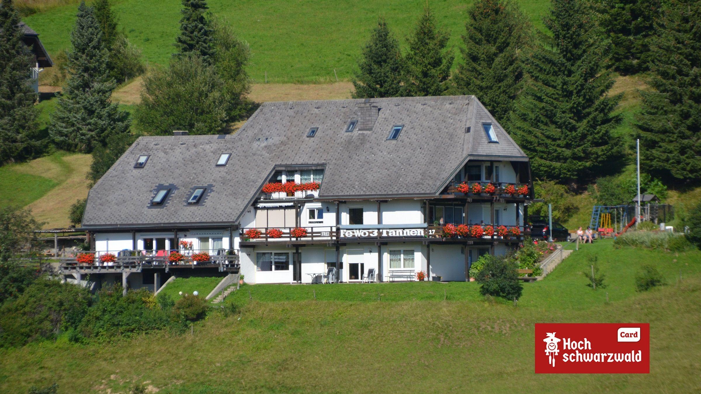 Drei Tannen und Ferienhaus Schneider, (Todtnau). B Ferienhaus  Schwarzwald