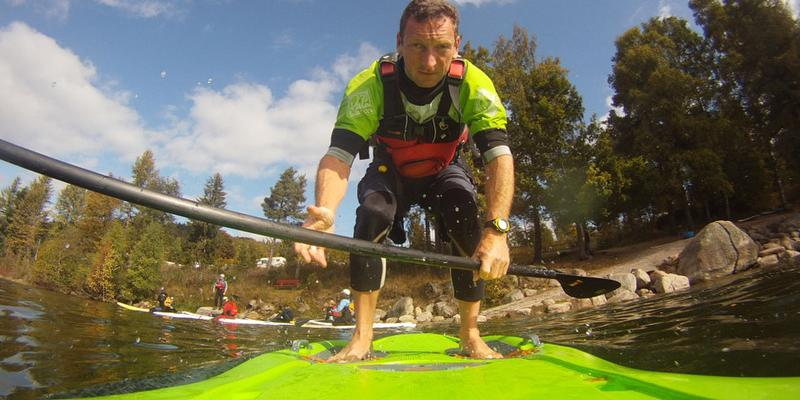 Basiskurs Stand Up Paddling - SUP am Schluchsee
