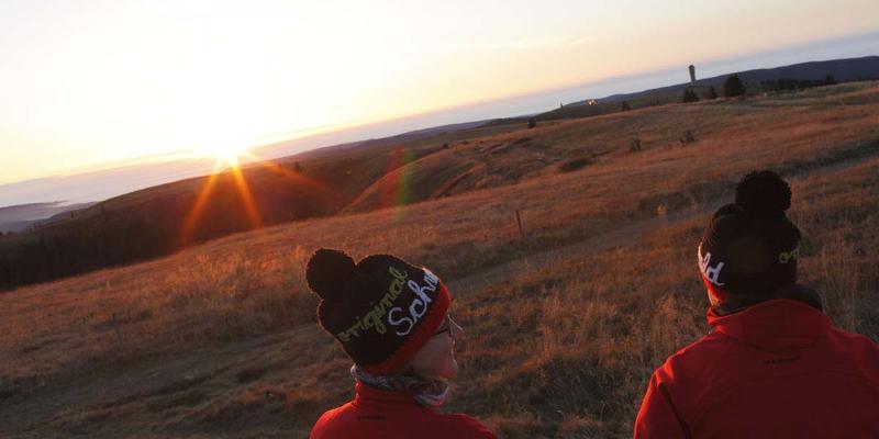 Wanderung: Zum Sonnenaufgang auf den Feldberg mit Almhüttenfrühstück