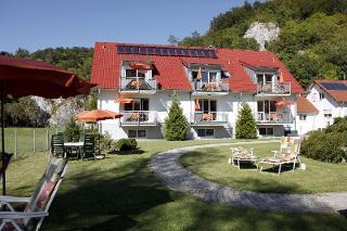 Ferienwohnungen Holder, Biosphärengebiet Schwäbische Alb, Blick vom Garten