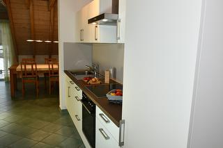 Ferienwohnungen Holder, Biosphärengebiet Schwäbische Alb, Großes Lautertal, Küche FeWo 5